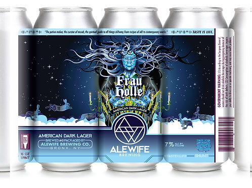 Frau Holle - Winter Lager - 7% - 4pk - 16oz Cans