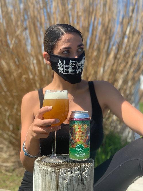Alewife Black Mask - unisex