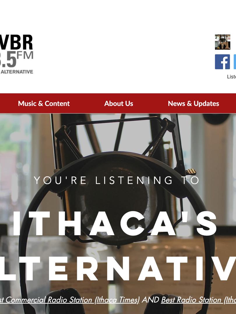 WVBR Homepage