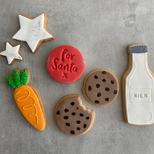 The 'Christmas Eve'  Biscuit Box