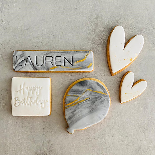 Sending Birthday Love - Biscuit Box