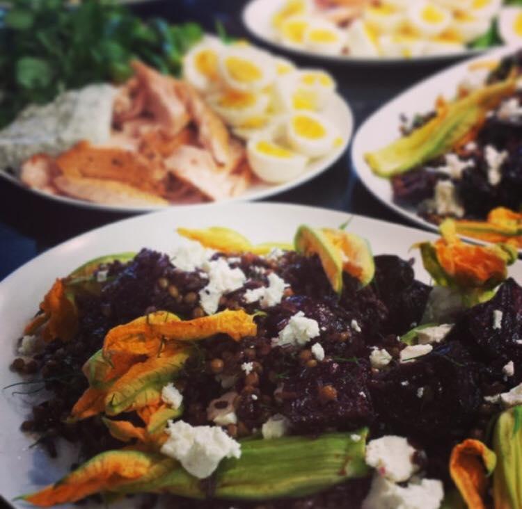 Wild Rice & Feta Salad