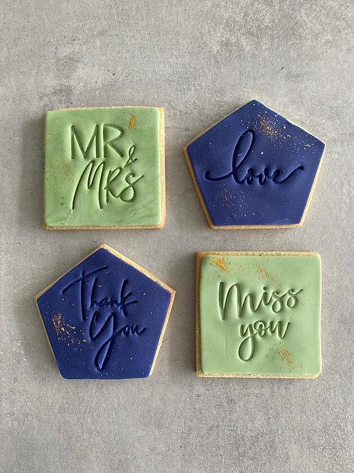'Message Biscuits'