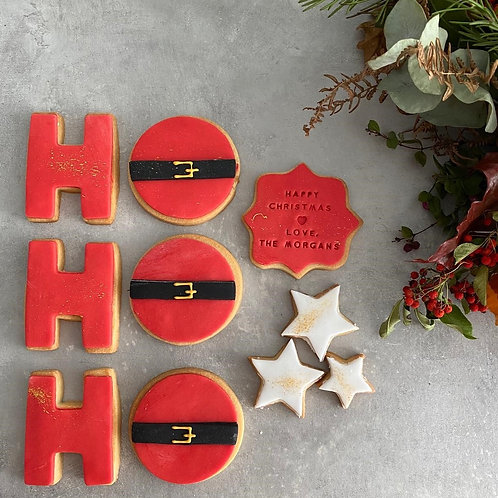 The 'Ho Ho Ho'  Biscuit Box