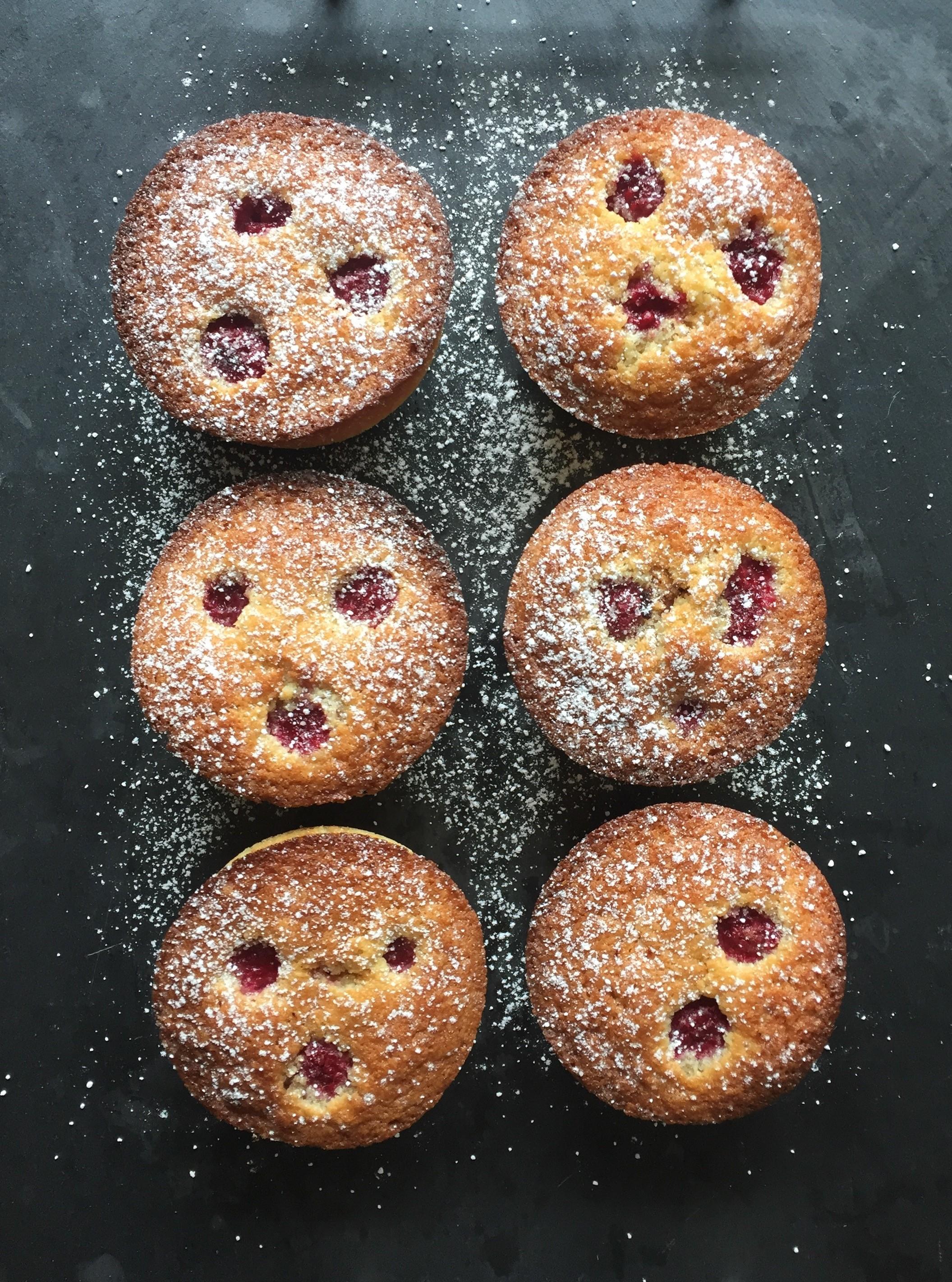 Raspberry & Almond Tarts