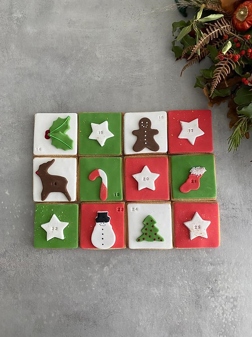 The 'Advent' Biscuit Box