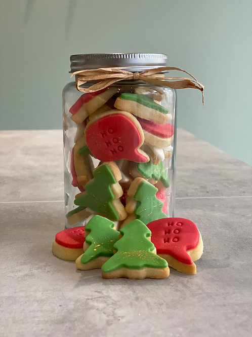 The 'Festive' Biscuit Jar