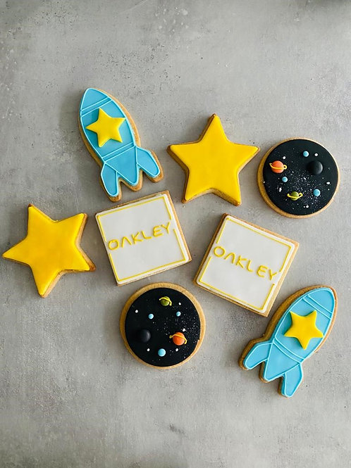 The 'Space' Biscuit Box
