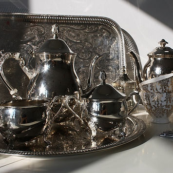 Teacups_and_Tandems_Buckinghamshire_Wedding_Events_Props_Silverware_Teapots_Sugar Bowls_Vintage