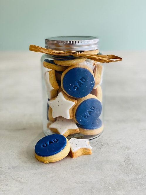 Father's Day Biscuit Jar