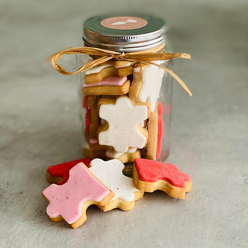 The 'Love You To Pieces' Biscuit Jar