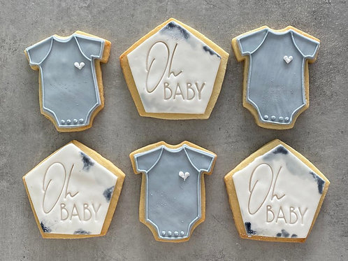'Oh Baby Biscuit Box'