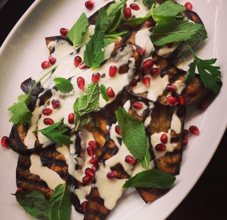 Grilled Eggplant & Tahini
