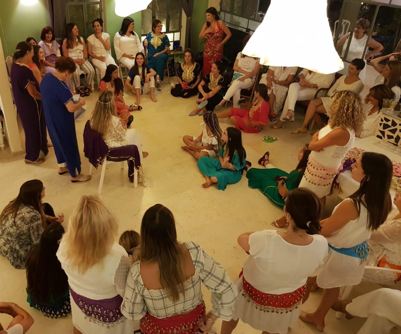 ערב נשים במקווה עם מיה