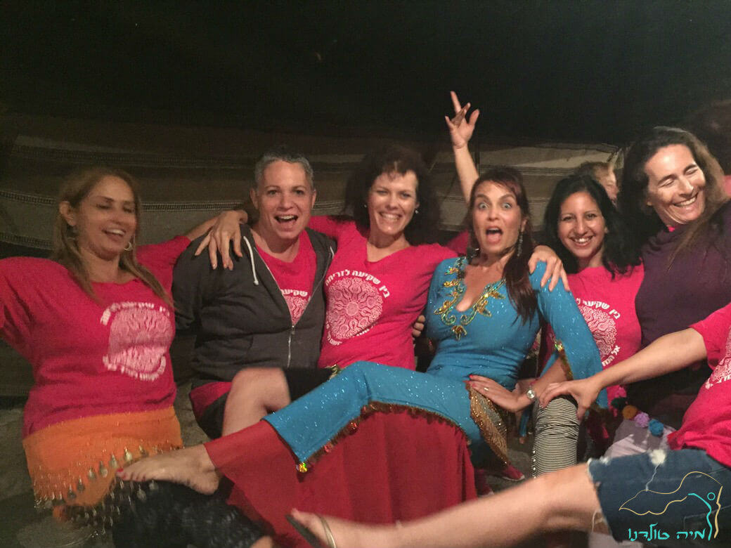 מופע מיוחד לנשים מיה טולדנו