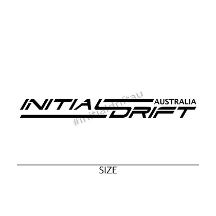 OG Initial Drift Australia Vinyl Cut