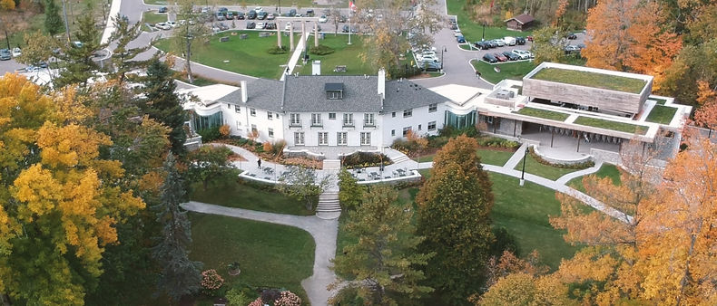The aerial view of Guild Inn Estates
