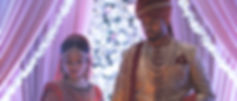 Aarushi and Tejas during the traditional hind ceremony