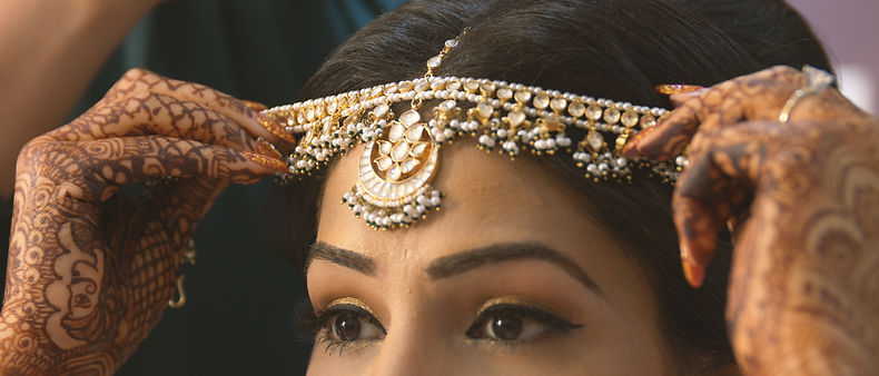 Indian golden ornaments