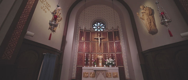 Beautiful altar at Our Lady of Perpetual Help in Toronto.