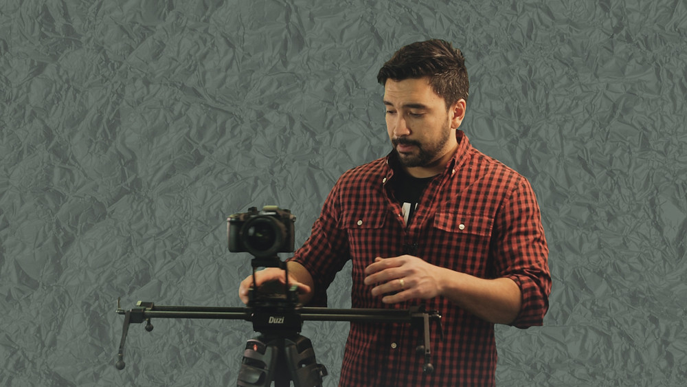 Myself in action reviewing the Edelkrone video gear