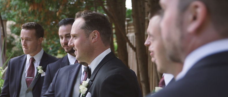 Ben and the groomsmen