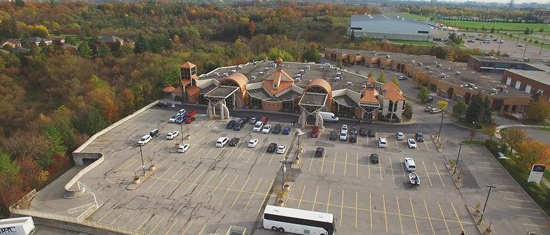 A great bird's eye view shot with a DJI Phantom 3 drone of the beautiful Fontana Primavera Event Centre venue.