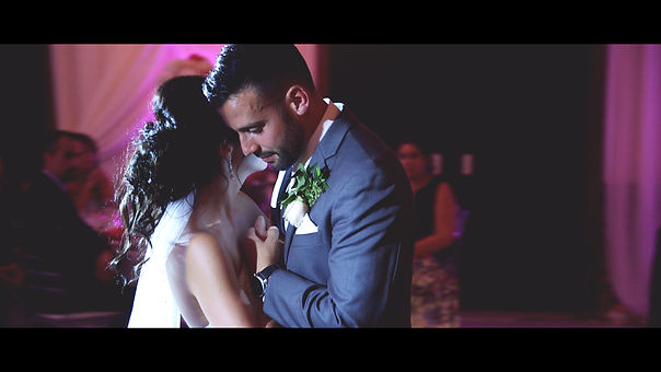 The couple's first dance captured by the cinematographer Renata Ueno.