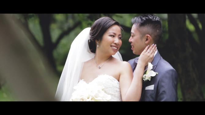 Allan & Phung, a Markham Museum wedding