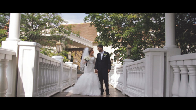 Nesrine & Mohammed, a wedding filmed at the Paradise Banquet Hall, in Vaughan, On.