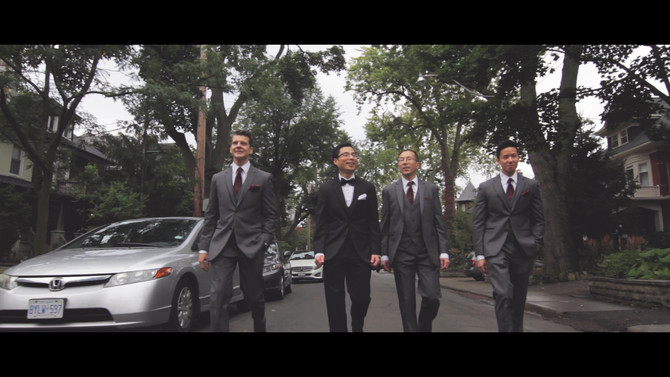 Heilo & Fred, a wedding filmed at the Estates of Sunnybrook