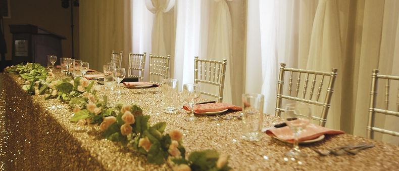 the reception at Paragon banquet hall.