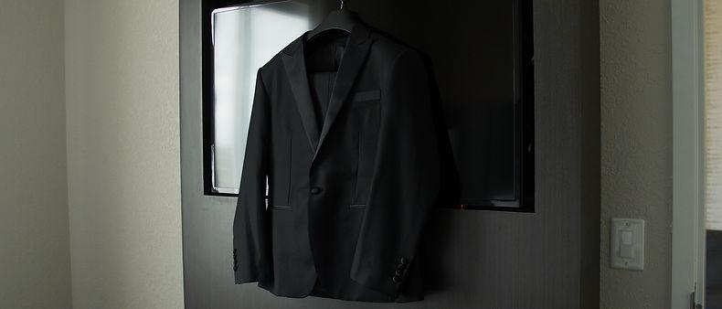 Groom suit jacket