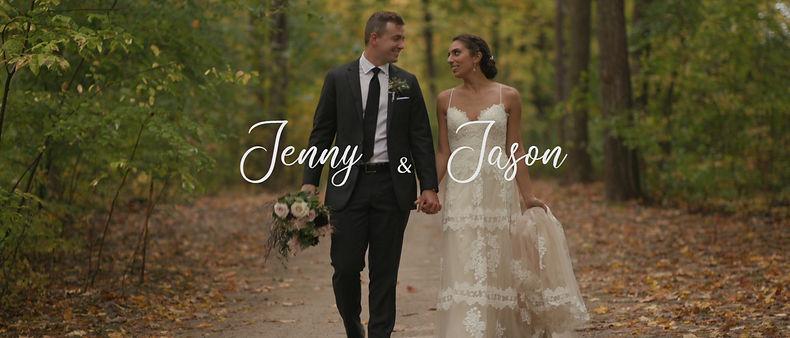 Jenny and Jason's Fall wedding at Whistle Bear