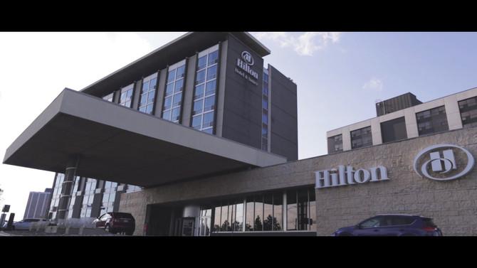 Josh & Nibha, a wedding filmed at the Hilton Toronto Airport Hotel