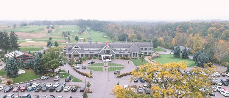 Drone shot of Whitle Bear in the fall