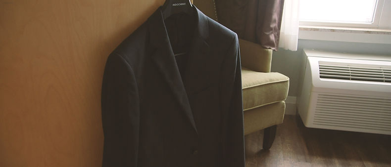 The Indochino groom's suit