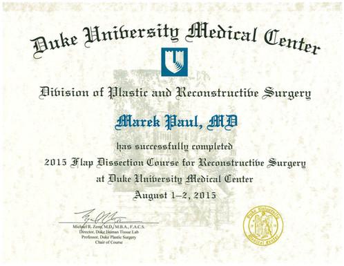 Duke Microsurgery Flap Course
