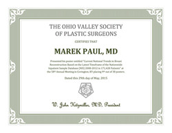 Marek Paul Certificate OHIO Valley Confe