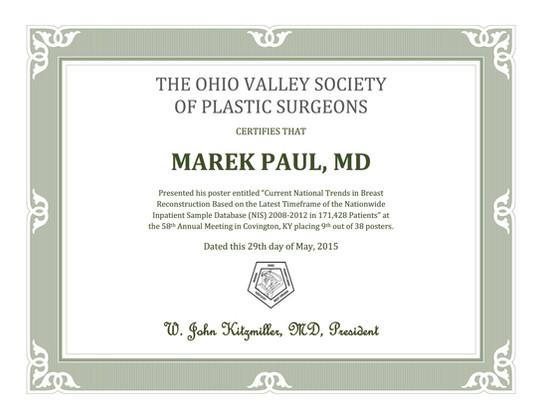 Plastic Surgery Conference Ohio 2015