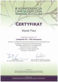 Limfografia ICG - PDE Kurs 2018
