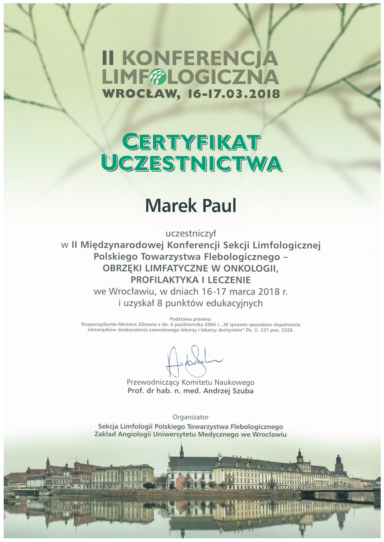 2 Lymphology Conference, Wrocław