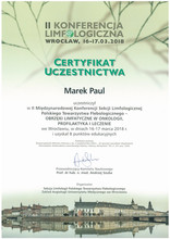 II Konferencja Limfologiczna we Wrocławiu 16-17.03.2018