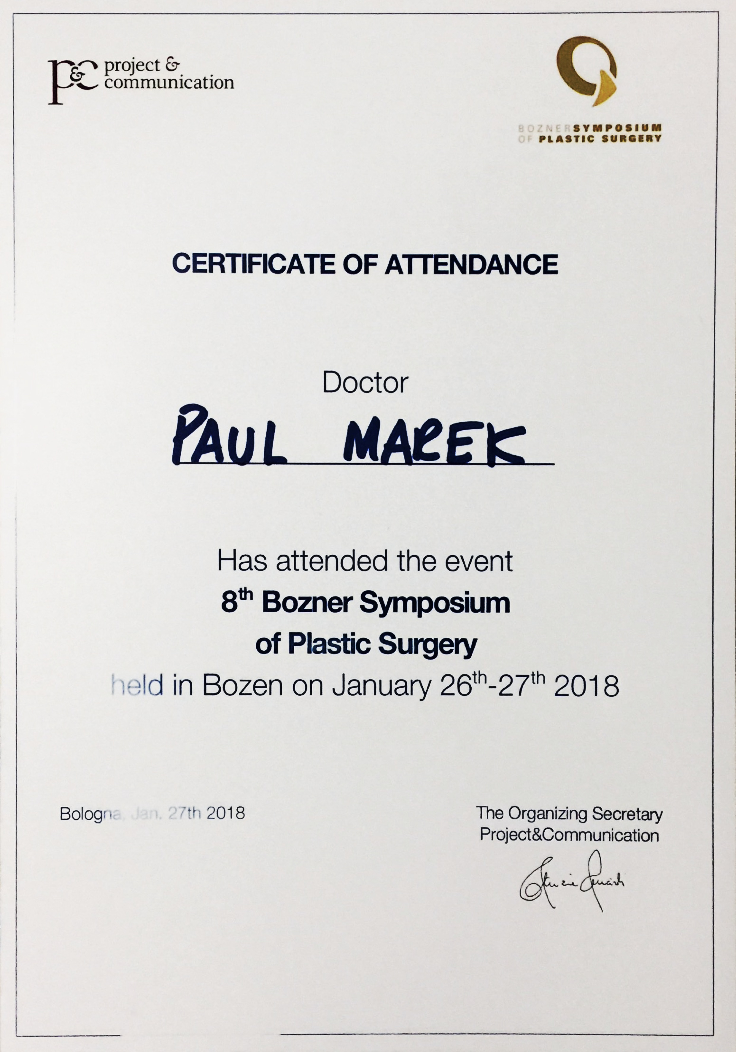 Bozner Symposium 2018