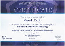 3rd International Conference of Plastic Gynecology 21-22.04.2018