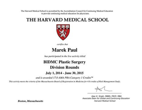 Harvard Medical School 2015