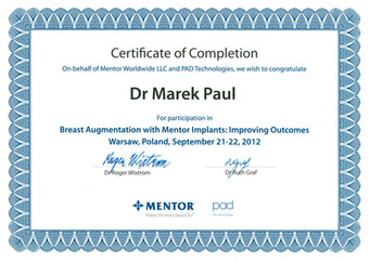 Mentor Breast Augmentation 2012