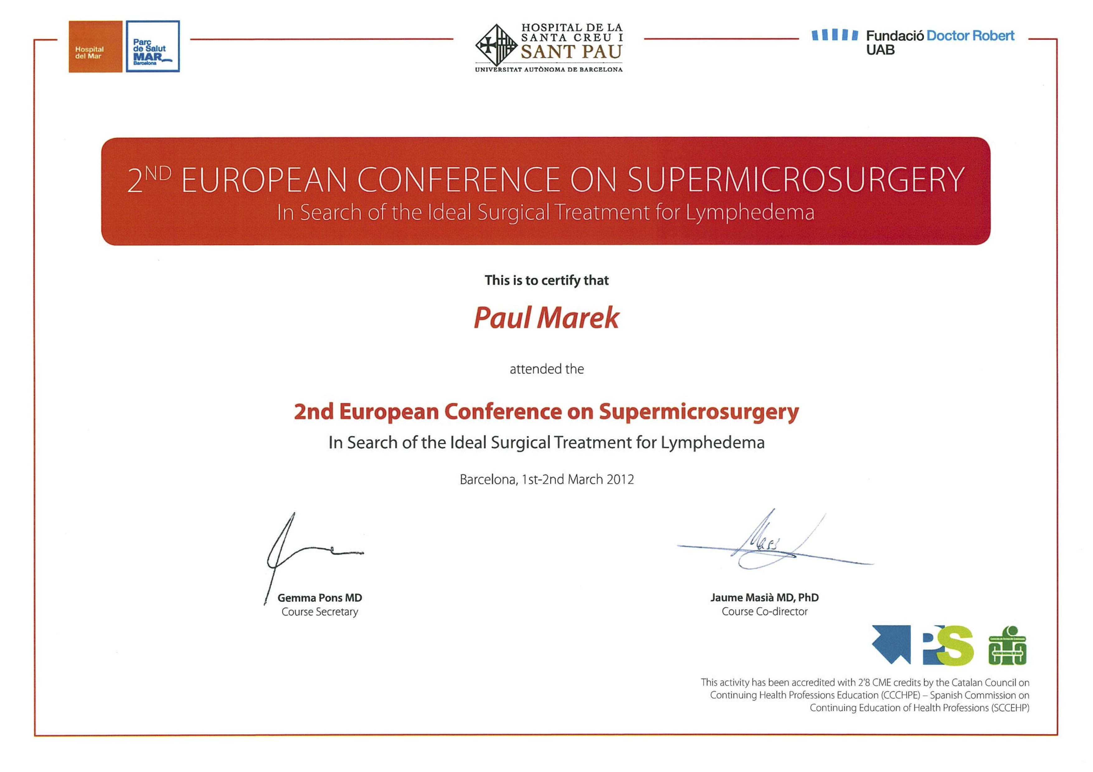 2nd SupraMicrosurgery