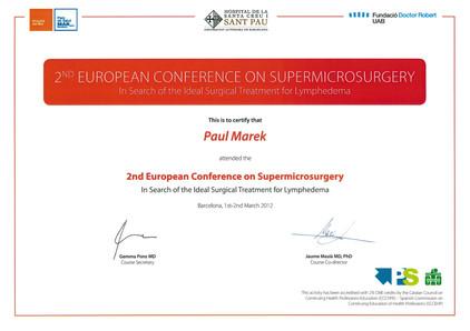 Supramicrosurgery Barcelona