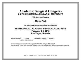 Academic Surgical Congres Las Vegas
